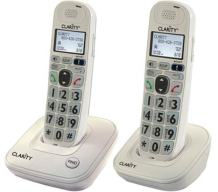 Clarity D702 Moderate Hearing Loss Cordless Phone with D702HS Expandable Handset