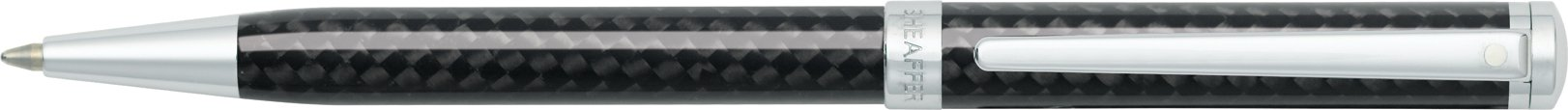 Sheaffer Intensity Carbon Fiber Ballpoint Pen with Chrome-Plated Trim