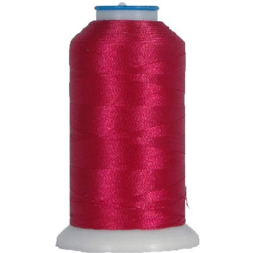 Threadart Polyester Machine Embroidery Thread By the Spool - No. 150 - Cherry Delight - 1000M - 40wt - 220 Colors Available