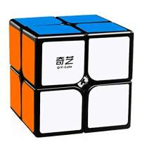 cubelelo QiYi QiDi 2x2 Black Speed Cube Puzzle 2x2x2 Magic Cube Puzzle Toy