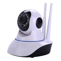 SANOXY Round IP Webcam with Microphone and Dome Camera Pan/Tilt/Zoom Wireless IP Indoor Security Surveillance System 720p HD Night Vision