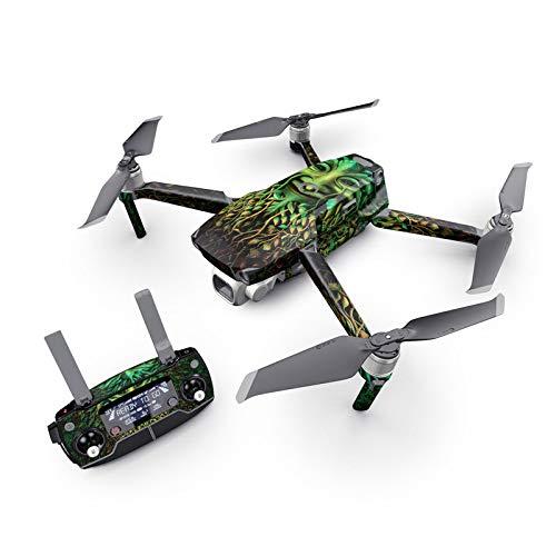 Greenman Decal Kit for DJI Mavic 2 Drone - Includes 1 x Drone/Battery Skin + Controller Skin