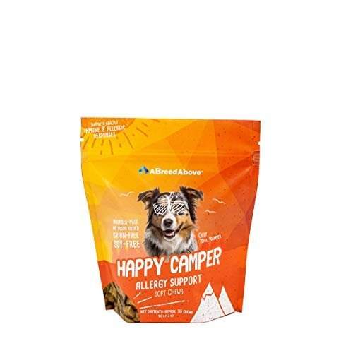 A Breed Above: Happy Camper Allergy Support