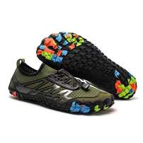 Bopika Water Shoes Sports Quick Dry Barefoot Shoes Diving Swim Surf Aqua Walking Beach for Mens Womens