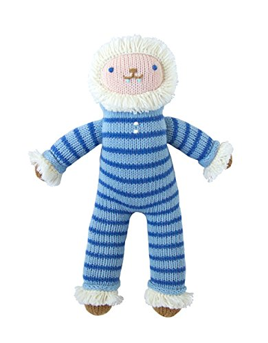 Blabla BRR The Yeti Mini Plush Doll - Knit Stuffed Animal for Kids. Cute, Cuddly & Soft Cotton Toy. Perfect, Forever Cherished. Eco-Friendly. Certified Safe & Non-Toxic.