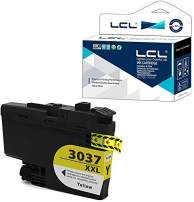 LCL Compatible Ink Cartridge Pigment Replacement for Brother LC3037 XXL LC3037XXL LC3037Y MFC-J6545DW MFC-J6545DW XL MFC-J5845DW MFC-J5845DW MFC-J5945DW MFC-J6945DW (1-Pack Yellow)