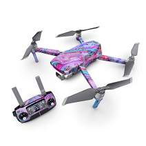 Marbled Lustre Decal Kit for DJI Mavic 2 Drone - Includes 1 x Drone/Battery Skin + Controller Skin