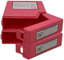 """iMBAPrice Zipo 3.5"""" Stackable Hard Drive Protective Case - 3.5-Inch IDE/SATA HDD Storage Box (Pack of 2) Pink"""