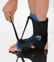 Ortho Depot Plantar Fasciitis, Achillies Tendonitis HD Night Splint Sm/Med with Gel Pack