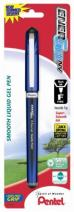 Pentel EnerGel NV Gel Ink Pen, (0.5mm), Needle Tip, Black Ink, 1 Pack (BLN25BPA)