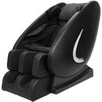 Full Body Shiatsu Massage Chair New Electric R Rothania 8 Points Rollers Recliner 3yr Warranty (Black)