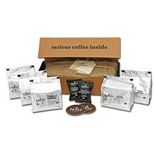 Tayst Coffee Pods | 50 ct. Sample Box | 100% Compostable Keurig K-Cup compatible | Gourmet Coffee in Earth Friendly packaging