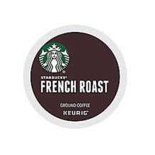 Starbucks French Roast Dark Coffee K-Cups 24-Count (Pack of 2)