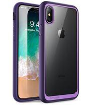 SUPCASE [Unicorn Beetle Style] Case Designed for iPhone X, iPhone XS, Premium Hybrid Protective Clear Case for Apple iPhone X 2017/ iPhone XS 2018 Release (Violet)
