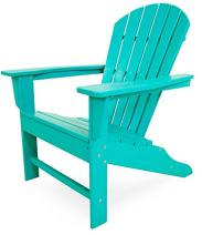 Polywood South Beach 4-Piece Adirondack Set (Aruba)