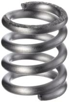 """Compression Spring, 302 Stainless Steel, Inch, 0.42"""" OD, 0.059"""" Wire Size, 1.384"""" Compressed Length, 2.25"""" Free Length, 17.66 lbs Load Capacity, 20.41 lbs/in Spring Rate (Pack of 10)"""