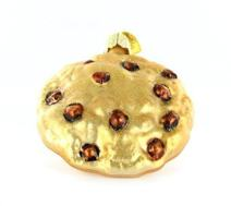 Old World Christmas Desserts, Cakes and Pies Glass Blown Ornaments for Christmas Tree,Chocolate Chip Cookie