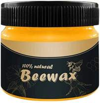 1PCS Wood Seasoning Beewax - Traditional Beeswax Polish for Wood & Furniture, Nourishes, Protects Dry Wood Health Club (with 2pcs Sponge)