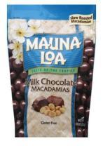 Mauna Loa Premium Hawaiian Roasted Macadamia Nuts, Milk Chocolate Flavor, 10 Oz Bag (Pack of 1)
