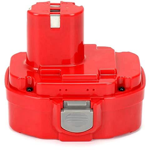 Reexbon 18V Battery for Makita 1834 1822 1823 1835 PA18 192826-5 192827-3 4334D 6343D 6347DWDE 8443D 6391D LS711D UB181D ML180, Reexbon 18 V 2Ah/2000mAh Replacement Battery