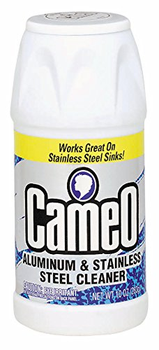 Arm & Hammer 33200-06800 Cameo Cleaner Aluminum and Stainless Steel Cleaner, 10 oz (Pack of 12)