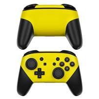 Solid State Yellow Decalgirl Skin Sticker Wrap Compatible with Nintendo Switch Pro Controller