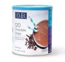 HMR 120 Chocolate Shake Meal Replacement Powder, 12g Protein, 120 Cal, Canister of 12 Servings