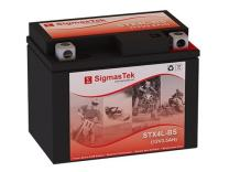 Genuine SigmasTek YTX4L-BS / STX4L-BS Sealed Maintenance Free ATV Quad Motorcycle Scooter Moped Battery