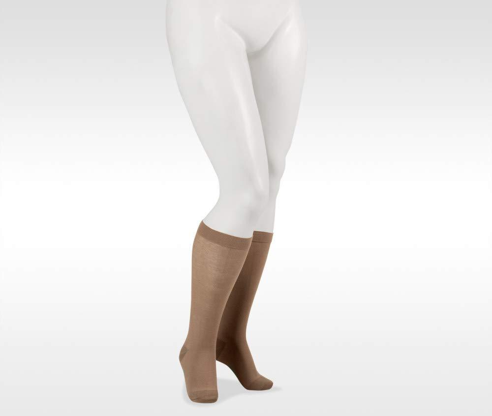 Juzo 5800 15-20mmhg Cotton Knee High Closed Toe Compression Sock