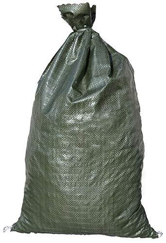 "Sandbags for Flooding, Size: 14"" x 26"", Sand Bag - Flood Water Barrier - Tent Sandbags - Store Bags by Sandbaggy (10 Bags)"