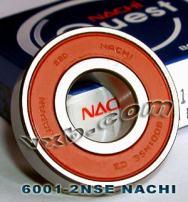 6001-2NSE Nachi Bearing 12x28x8 Sealed C3 Japan Ball Bearings