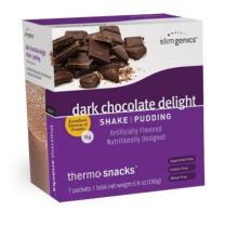 SlimGenics Thermo-Snacks ® |10g Protein - Alleviate Cravings, Increase Energy and Mental Focus, Enhance Weight Loss Results - Kosher Certified, 150 Calories - 7 Packets | Chocolate Shake