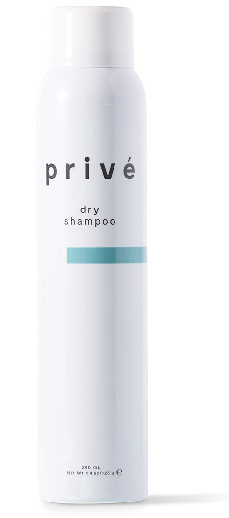 Privé Dry Shampoo Spray – Cleans Hair and Scalp, Leaving No White Residue and Imparts Incredible Volume, for All Hair Types (4.4 oz)