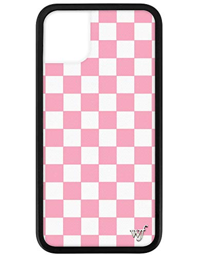 Wildflower Limited Edition Cases for iPhone 11 (Pink Checkers)