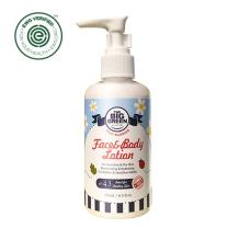 Biggreen Baby Face and Body Lotion EWG Verified 6.5 fl oz- Natural Plant Based ph Balanced Moisturizer. Thick and Rich shea Butter & Lavender Strengthens and Protects Infants to Sensitive Adults Skin