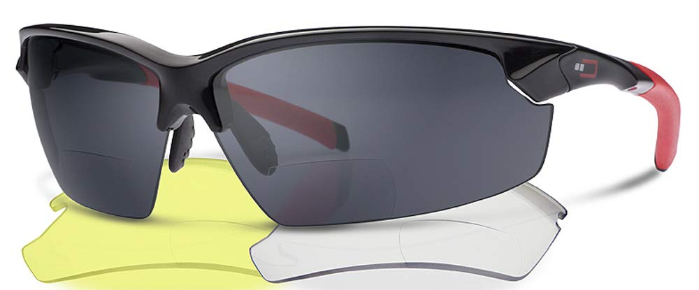 X1 LENS BUNDLE by DUAL EYEWEAR - Save $19.90 Sports Bifocal Reading Sunglasses