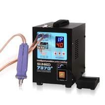SUNKKO 737G+ Battery Spot Welder, Pulse Welding Machine for 18650 14500 Lithium Batteries Battery Pack Work With Nickel Strips 0.35mm