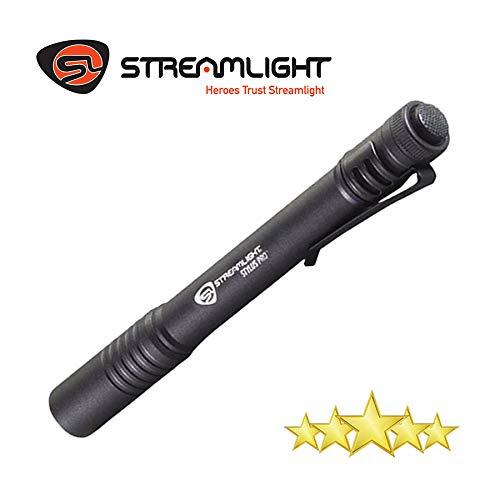 Streamlight 66118 Stylus Pro LED Pen Light, 2 AAA Batteries (Included), Black