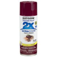 Rust-Oleum 249863 Painter's Touch Multi Purpose Spray Paint, 12-Ounce, Cranberry