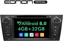 "Eonon Car Stereo Radio 7"" Android 8.0, 4G RAM Car GPS Navigation Head Unit, Compatible with BMW 3 Series 2005-2011(E90/E91/E92/E93),Support Bluetooth, WiFi Connection- GA9165B"