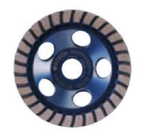 Bosch DC4530H 4.5-Inch Diameter Turbo Row Diamond Cup Wheel with 5/8-11 Hub
