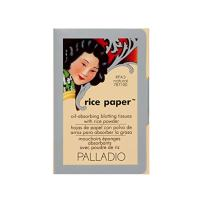 Palladio Rice Paper Tissue, Natural, Face Blotting Sheets with Natural Rice Powder Absorbs Oil and Helps Skin Stay Looking Fresh and Smooth, Compact Size for Purse or Travel