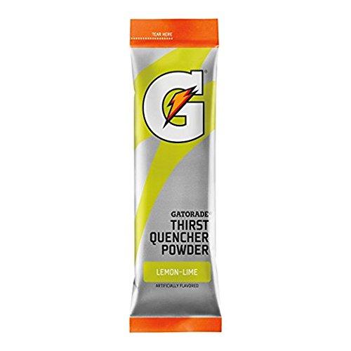 Gatorade Powder Sticks, Lemon-Lime, Makes 20 ounces/stick (Pack of 8)