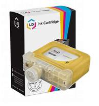 LD Compatible Ink Cartridge Replacement for Canon PFI-301Y 1489B001AA (Yellow)