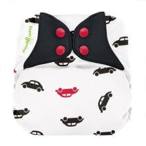 bumGenius Elemental 3.0 All-in-One One-Size Cloth Diaper with Organic Cotton (Stop)