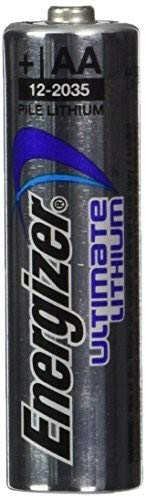 Energizer Ultimate Lithium AA Batteries, World's Longest-Lasting AA Battery, 10 Pack