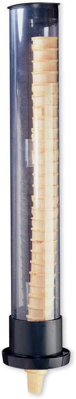 San Jamar IC2200SM Ice Cream Cone Dispenser, Clear