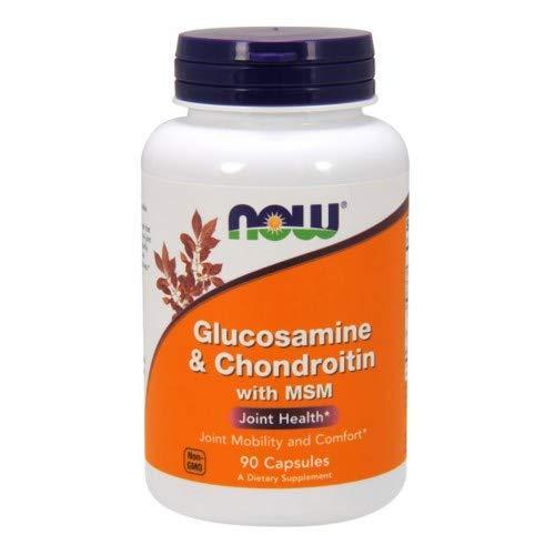 Glucosamine & Chondroitin with MSM - 90 Caps -2 Pack