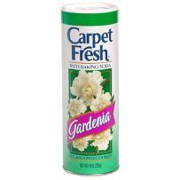 Carpet Fresh Rug and Room Deodorizer with Baking Soda, Gardenia Fragrance, 14 oz (12 Pack)
