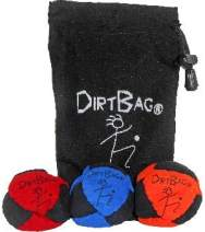 DirtBag Classic Footbag Hacky Sack 3 Pack with Pouch